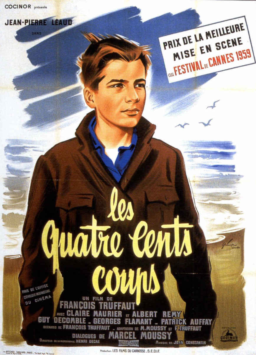 Les quatre cents coups the 400 blows 1959 francois truffant niall mcardle a world of film - Les quatre cents coups film ...