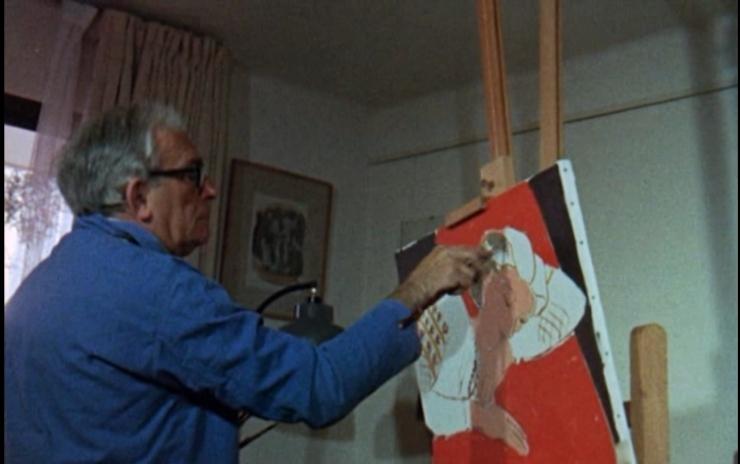"f for fake ""elmyr"" painting"