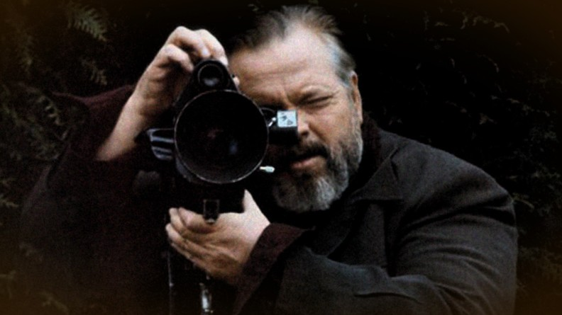 Orson Welles in F for Fake