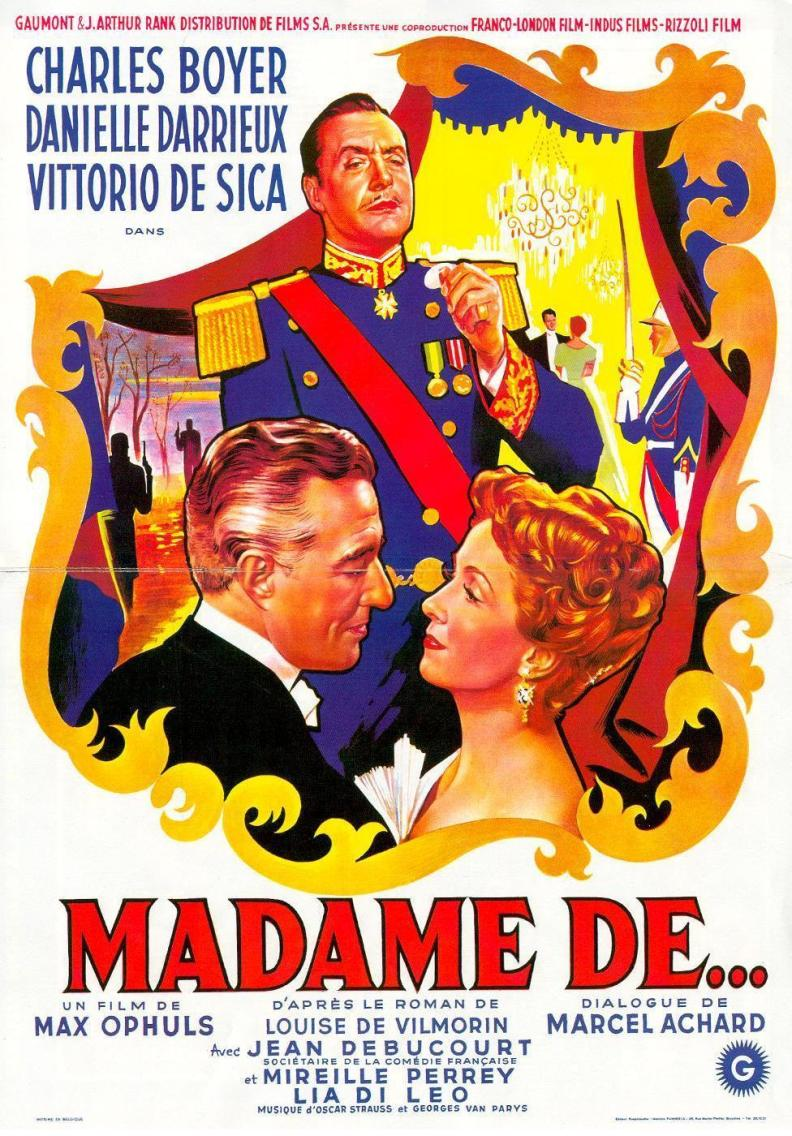 Poster - Earrings of Madame de, The_04