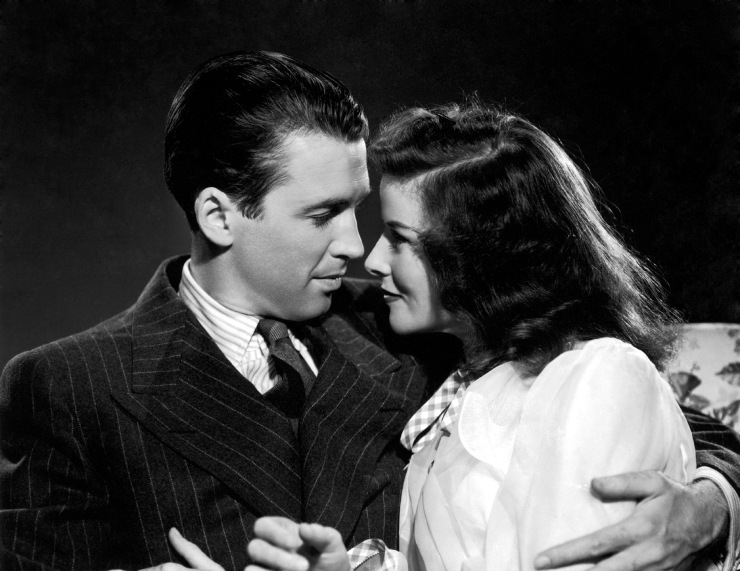 James Stewart - the philadelphia story - & Katherine Hepburn