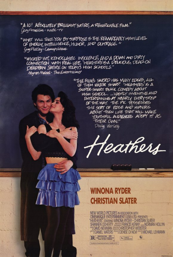 HEATHERS - American Poster 1