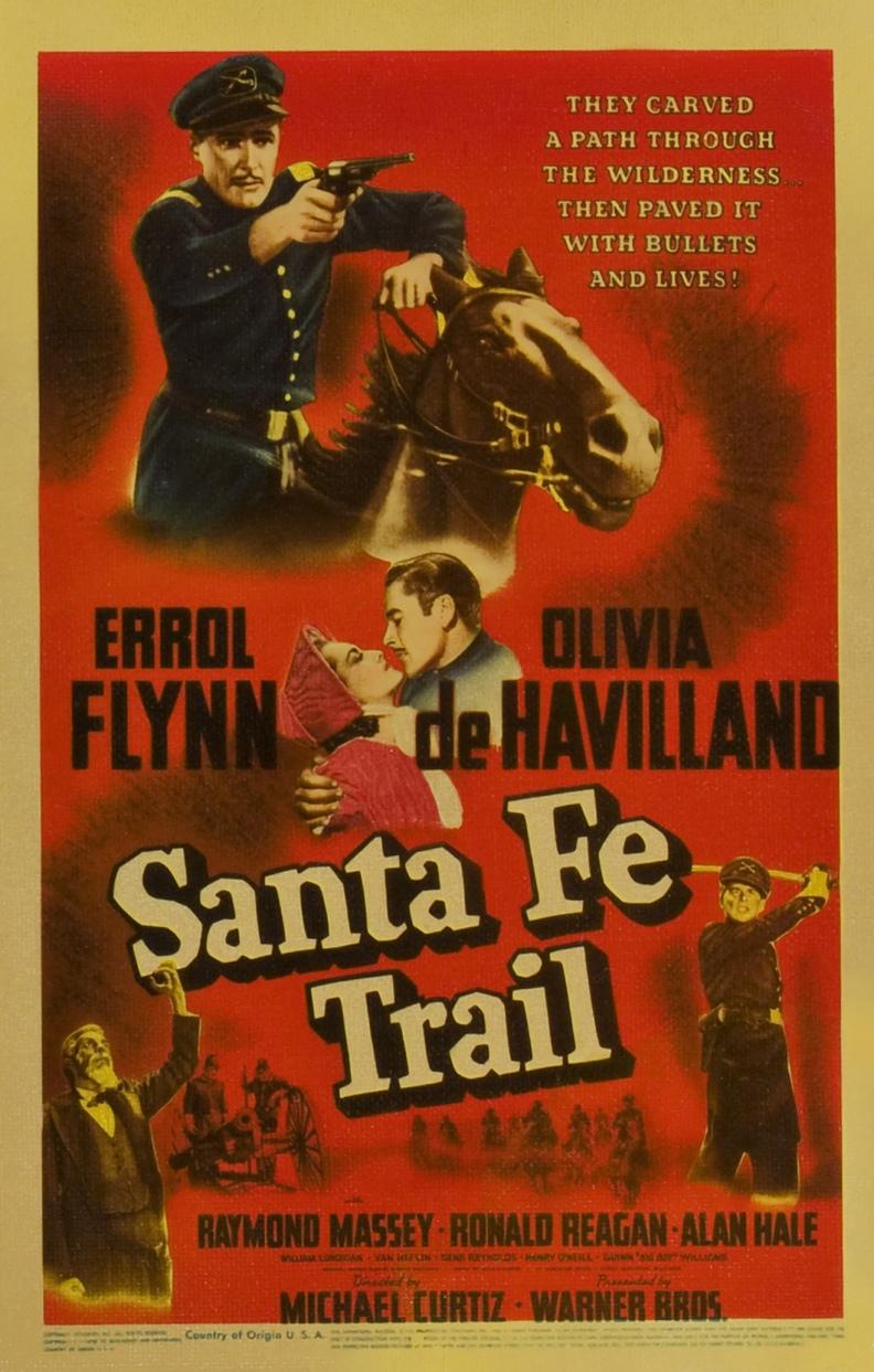 Poster - Santa Fe Trail (1940)_06