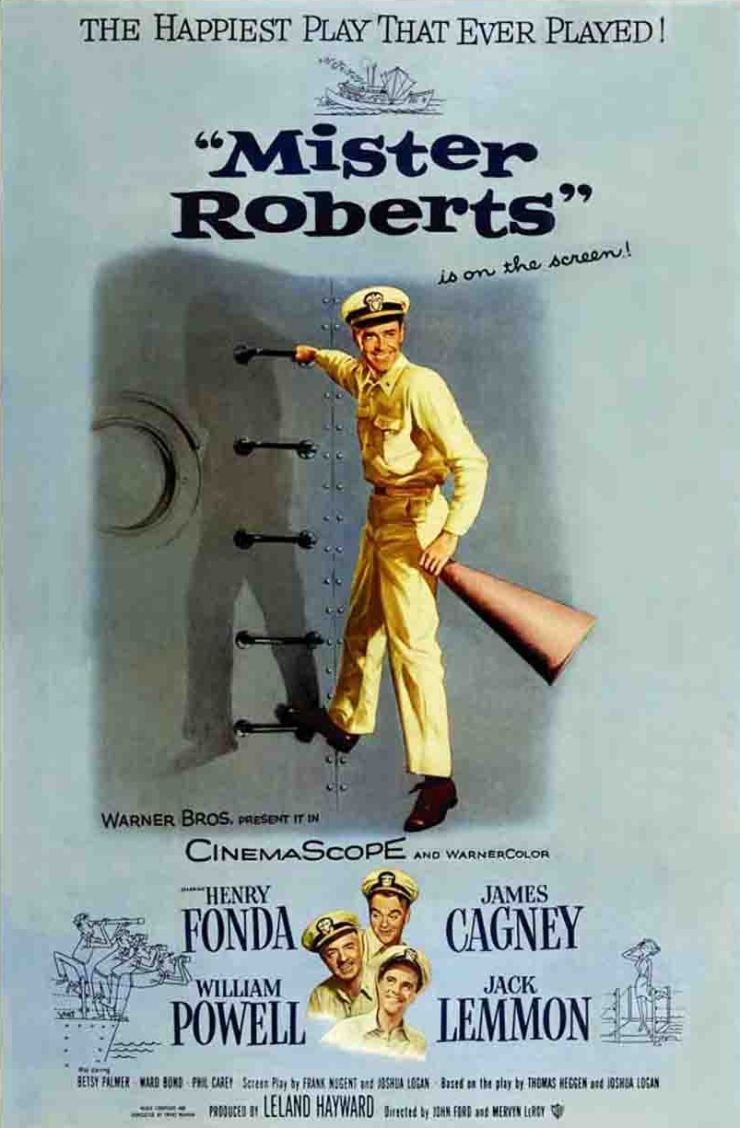 Mister Roberts Poster 1 cropped