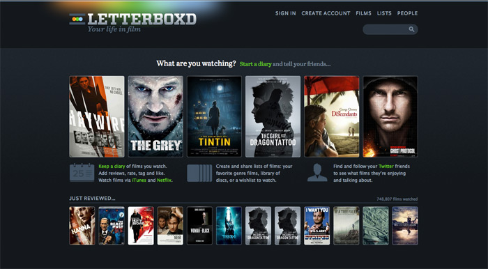 follow me on letterboxd – a world of film